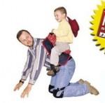 Ponyboy mit Sattel geritten